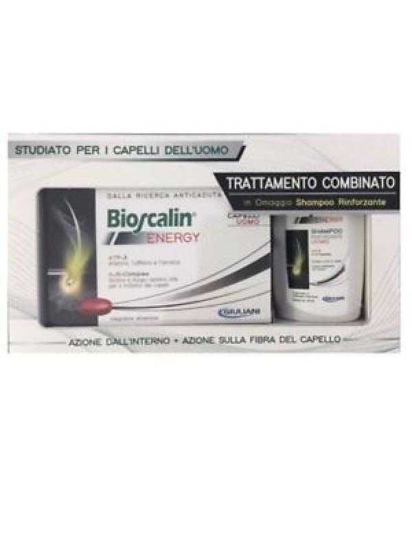 BIOSCALIN ENERGY UOMO 30 COMPRESSE+ IN REGALO SHAMPOO RINFORZANTE 100ML