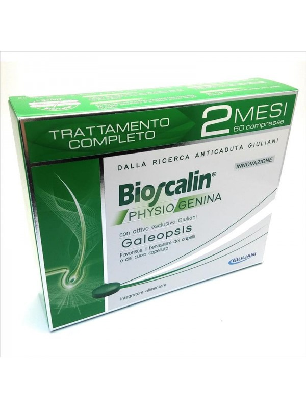BIOSCALIN PHYSIOGENINA 60 Compresse Anticaduta