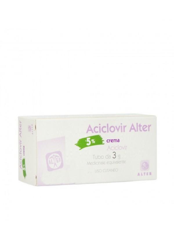 ACICLOVIR Crema  3g 5% ALTER