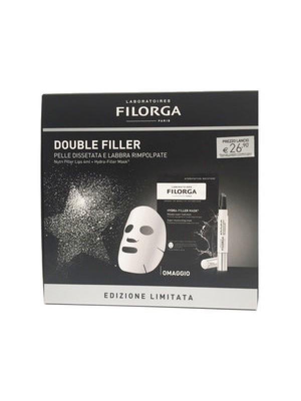 Filorga DOUBLE FILLER Cofanetto Natale Hydra Filler Mask + Nutri Filler Lips