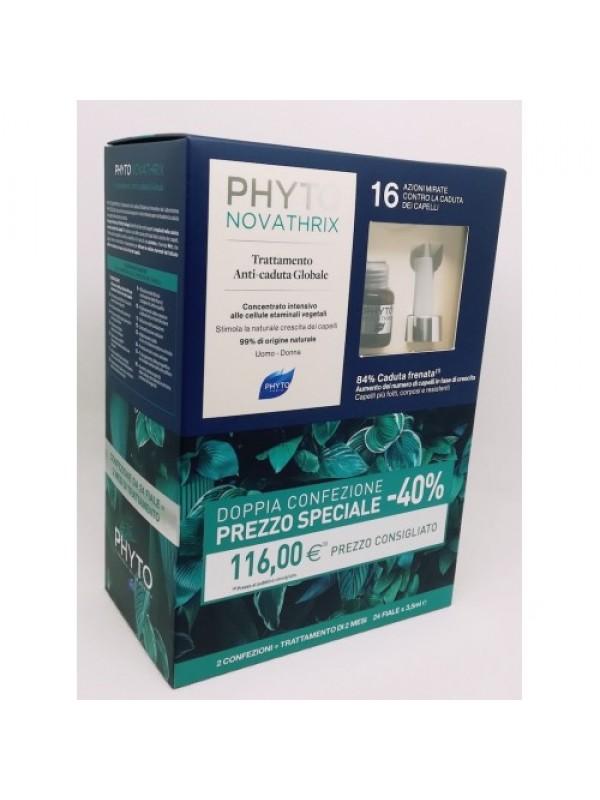 Phyto PHYTONOVATRIX Fiale Duo Confezione Doppia ( 12 Fiale da 3,5 ml + 12 Fiale da 3,5 ml )