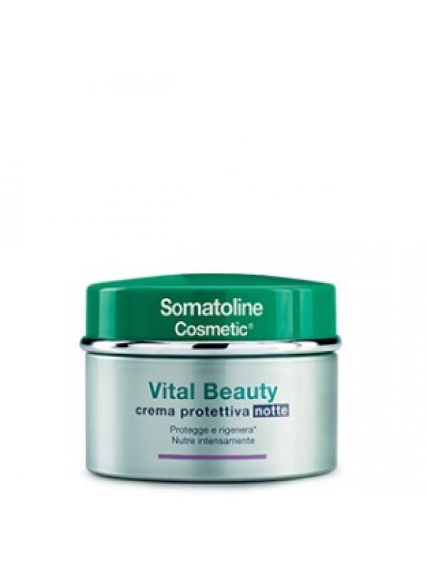 Somatoline Cosmetic Vital Beauty Crema Viso Notte 50 ml