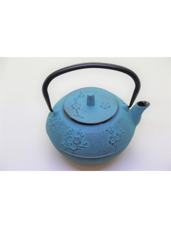 Teiera Ghisa YOKO Azzurra Da 1200 ml