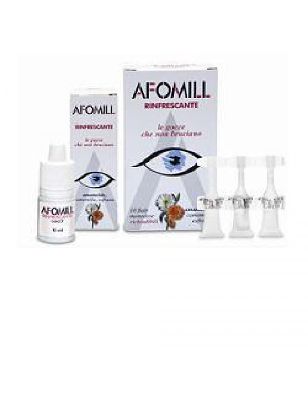 AFOMILL Rinfr.10fl.0,5ml Mono