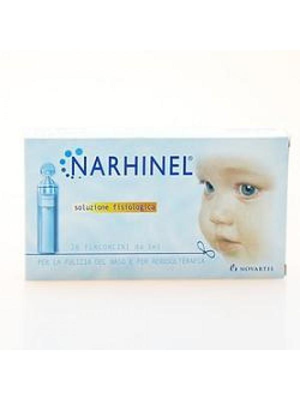 NARHINEL Soluzione Fisiologica Confezione 20 flaconcini da 5 ml