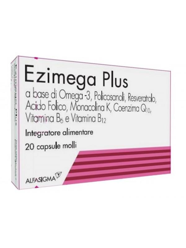 Ezimega Plus 20 Cps