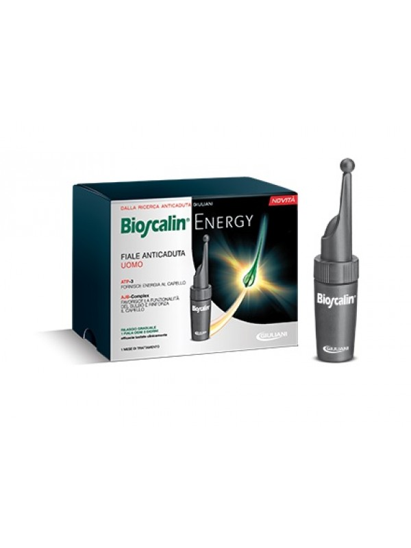 BIOSCALIN ENERGY UOMO 10 FIALE ANTICADUTA