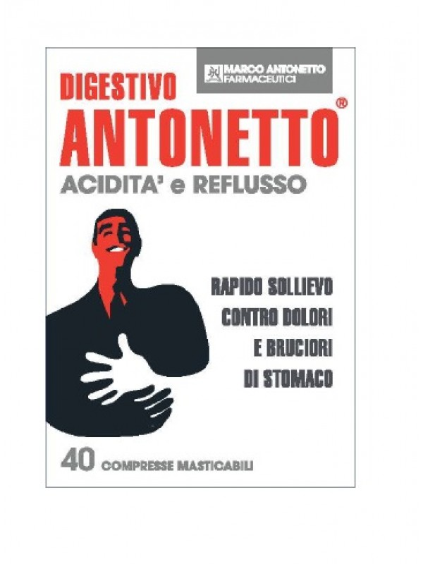 ANTONETTO DIGEST.A/R 40 Cpr