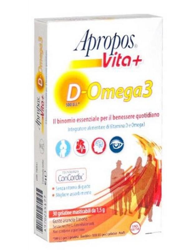 APROPOS VITA+Vit.D+Omega3