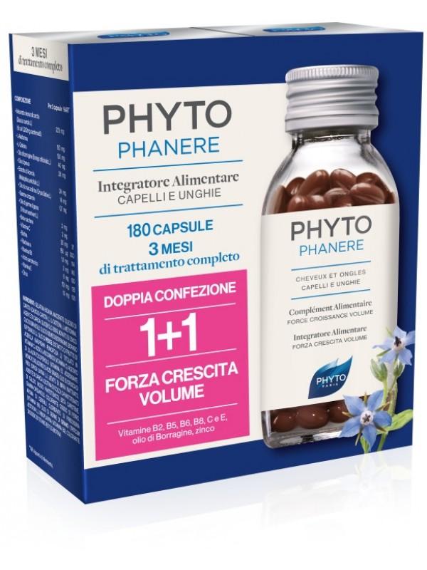 Phyto PHYTOPHANERE Integratore Alimentare Per Capelli E Unghie ( 90 + 90 Capsule )