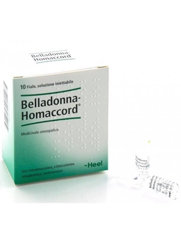 BELLADONNA HOMAC 10f.1,1mlHEEL