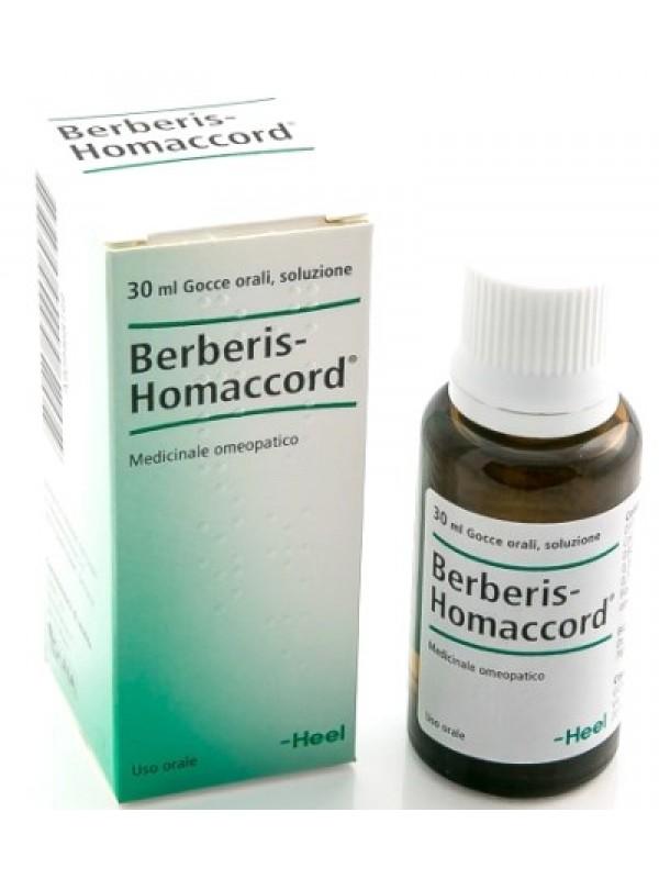 BERBERIS HOMAC Gtt 30ml HEEL