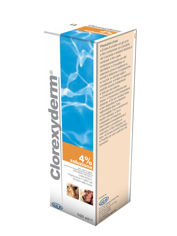 CLOREXYDERM*Soluz.4%  100ml