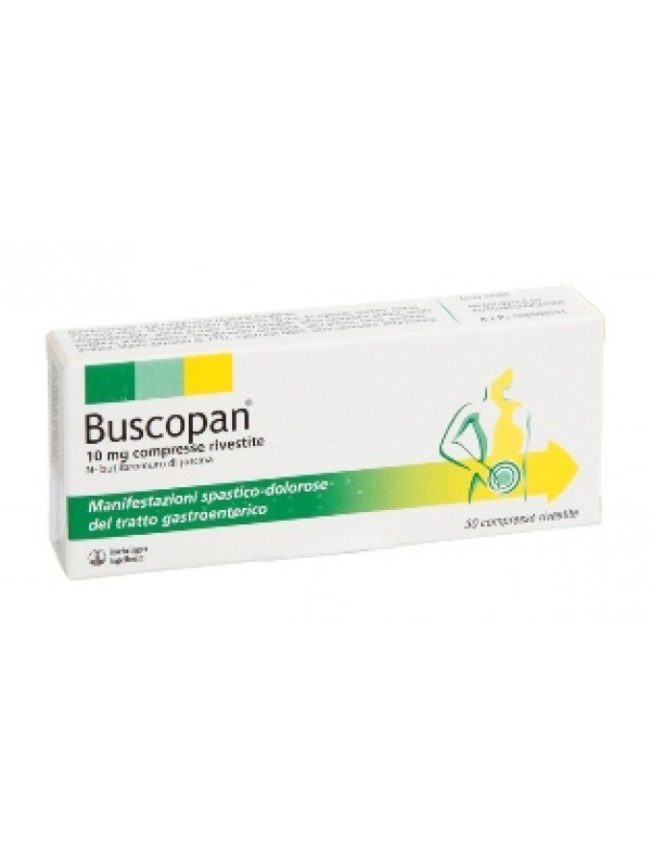 BUSCOPAN*10mg 30 Cpr     F1000