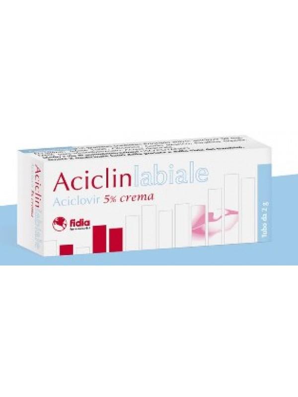 ACICLIN Labiale Crema 5% 2g