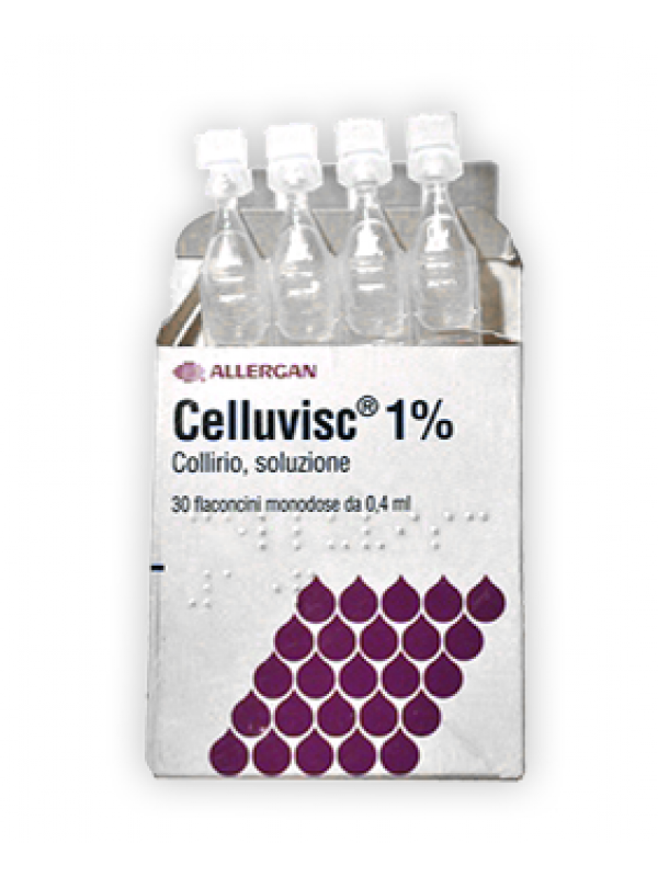 CELLUVISC Coll.1%  30 Flac.