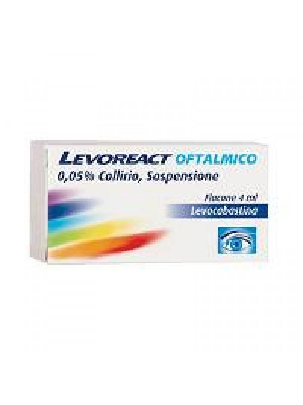 LEVOREACT OFTA*COLL 4ML 0,5MG/