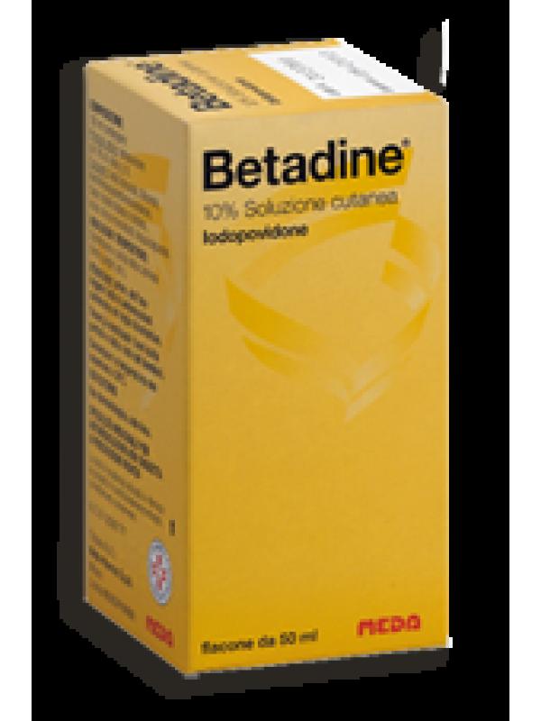 BETADINE Sol.Cut.10%   50ml