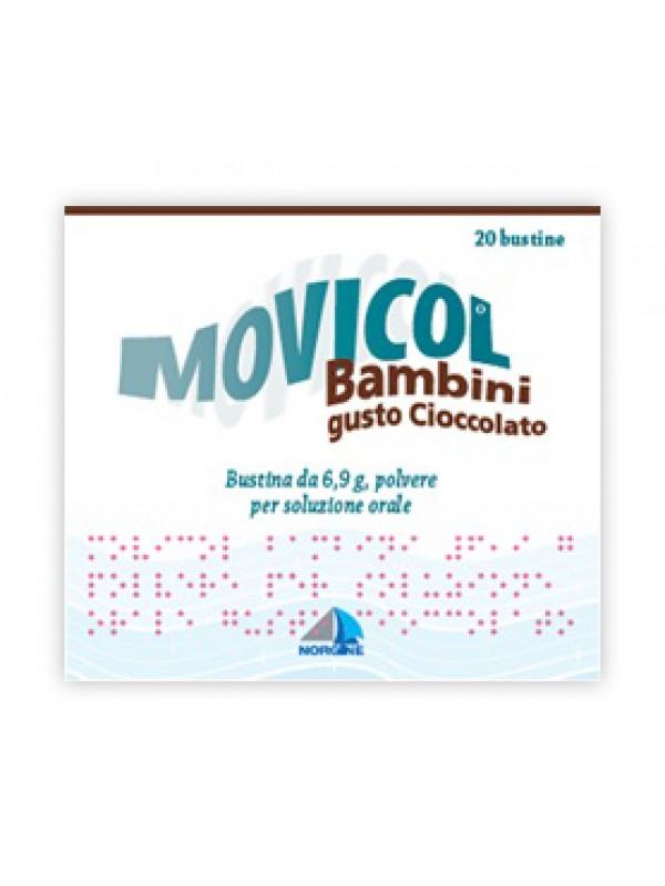 MOVICOL 20 Bs Bamb.6,9g Ciocc.