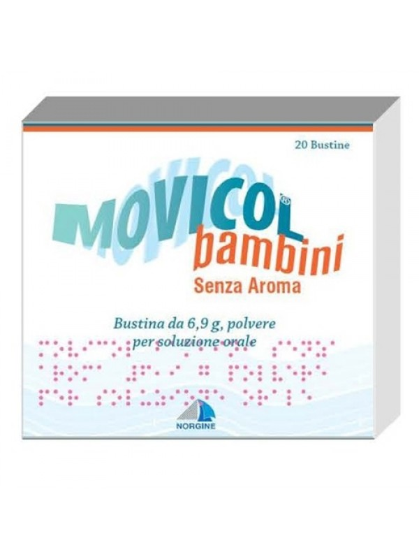 MOVICOL 20 Buste Bamb.S/Aroma