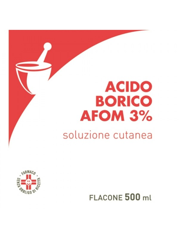 ACIDO Borico 3% 500ml AFOM