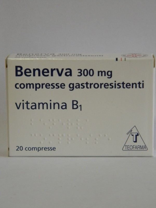 BENERVA 20 Cpr 300mg