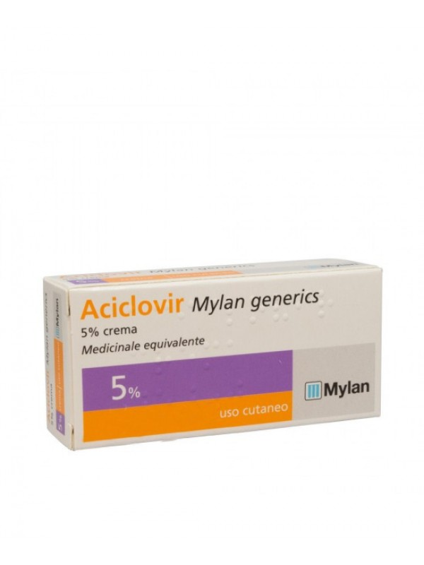 ACICLOVIR Crema  3g 5% MYLAN