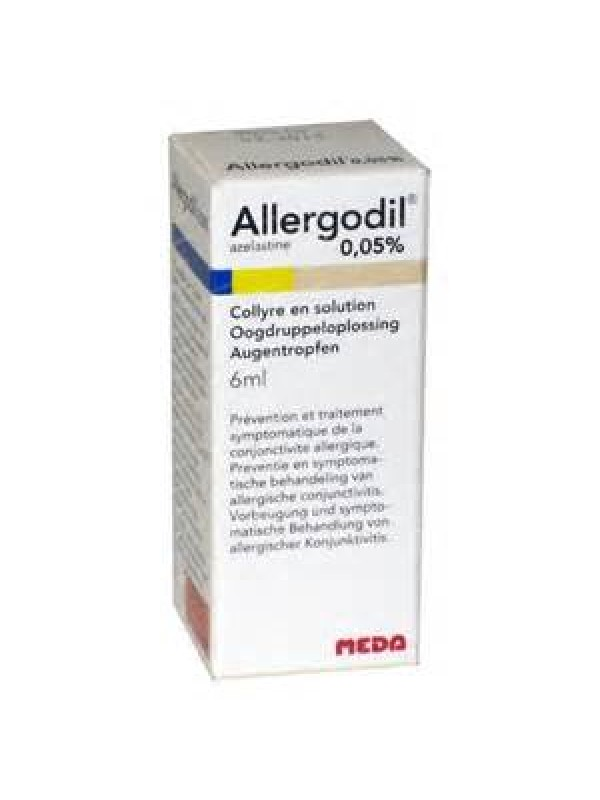 ALLERGODIL Coll.0,05% 6ml