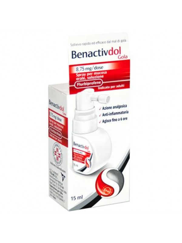 BENACTIVDOL Gola Spray 15ml