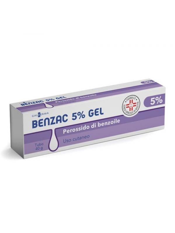 BENZAC  Gel  5% 40g