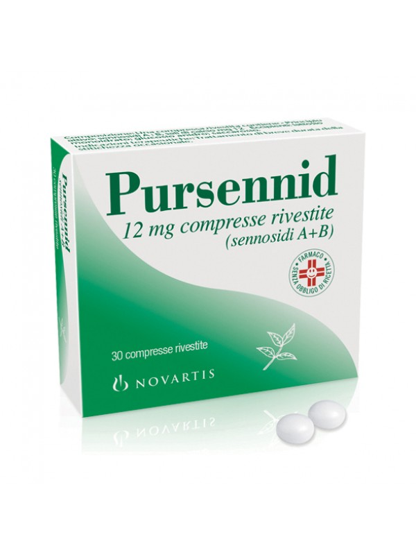 Pursennid 12 mg 30 compresse