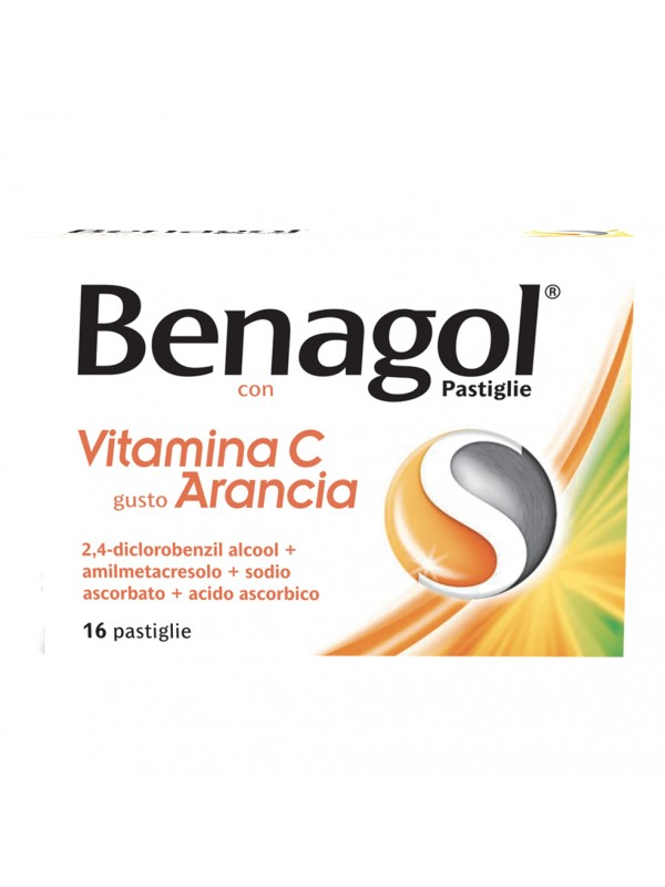BENAGOL 16 Pastiglie Vitamina C Gusto Arancia