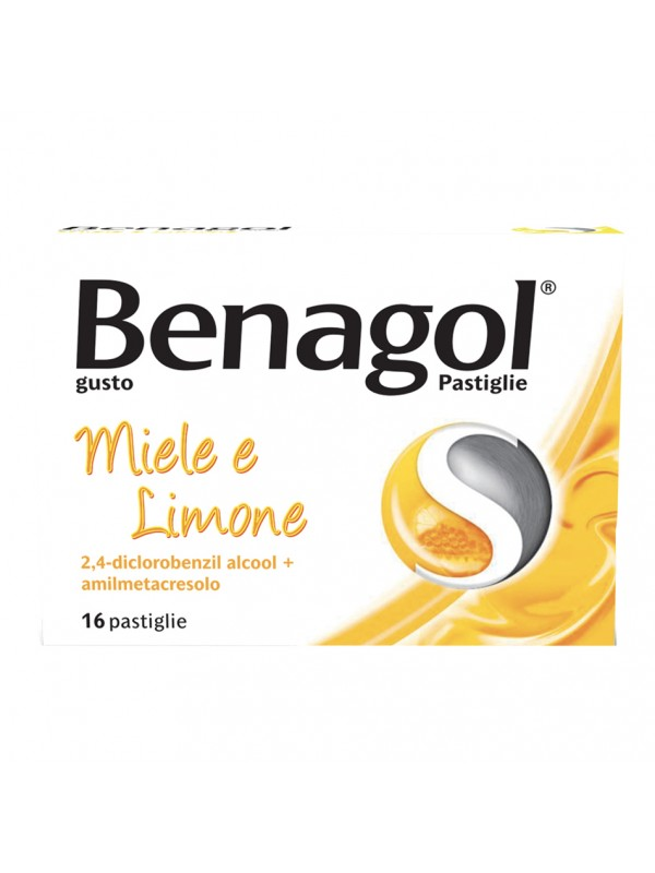 BENAGOL 16 Pastiglie Miele/Limone
