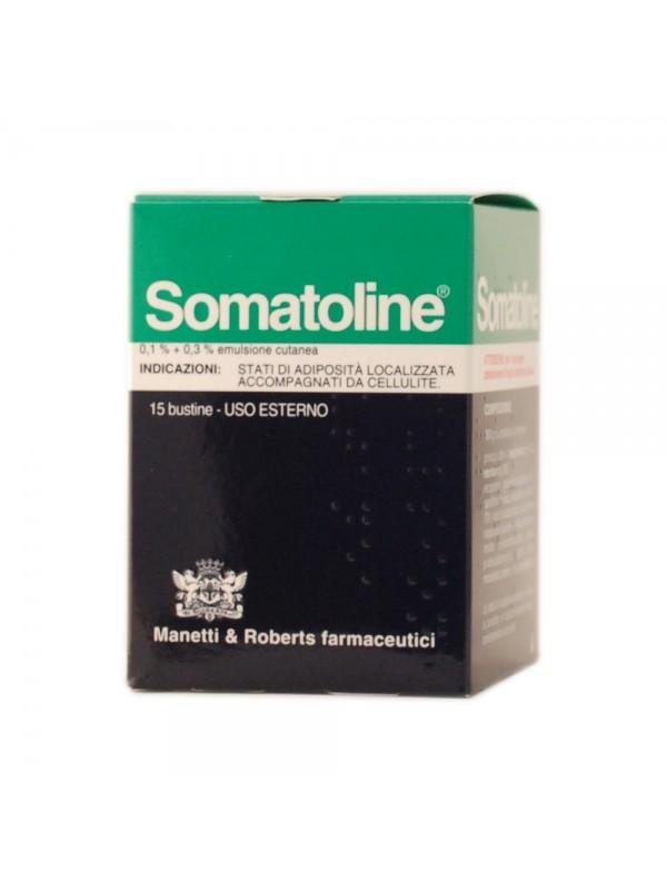 Somatoline Anticellulite Emulsione Cutanea 0,1%+0,3% 15 Bustine