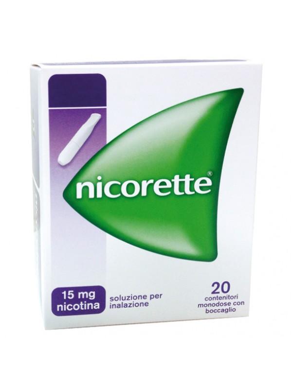 NICORETTE-Sol.Inal.20fl.15mg