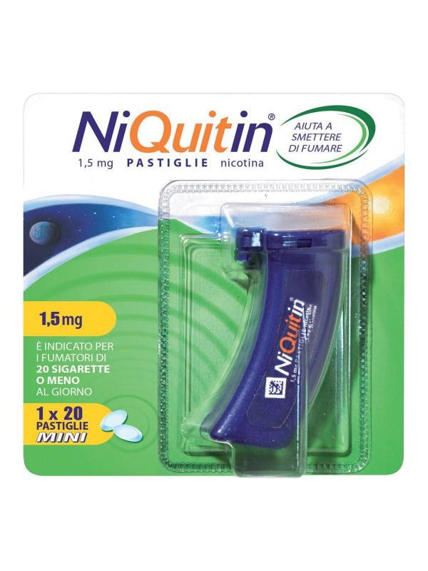NIQUITIN Mini 20 Past.1,5mg