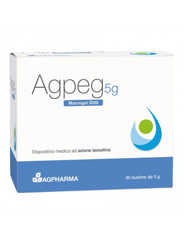 AGPEG Macrogol 3350 30 Bust.5g